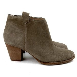 MADEWELL Suede Blue Ankle Boots Size 7.5